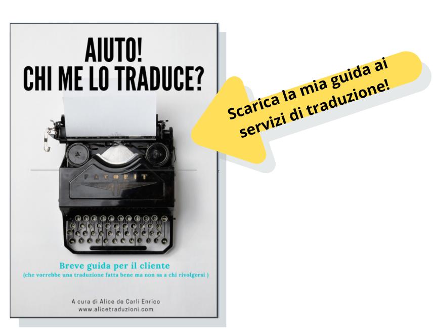 Scarica la guida ai servizi di traduzione